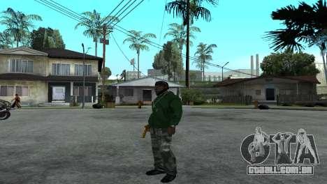 Gold Desert Eagle para GTA San Andreas por diante tela