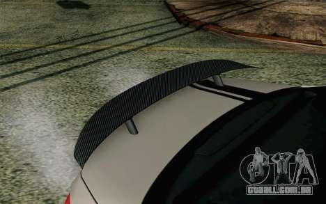 Mercedes-Benz C250 AMG Brabus Biturbo Edition EU para GTA San Andreas vista direita