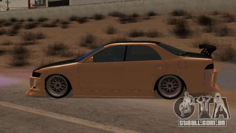 Toyota Mark II para GTA San Andreas vista interior