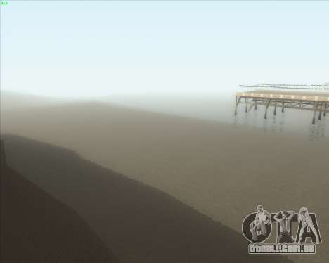 ENB Series New HD para GTA San Andreas quinto tela