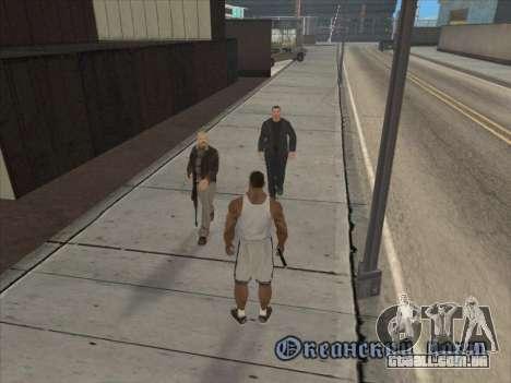 Os Russos, no distrito Comercial para GTA San Andreas nono tela