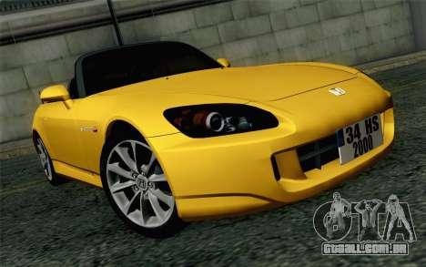 Honda S2000 Cabrio para GTA San Andreas