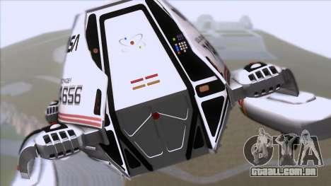 Shuttle v2 Mod 1 para GTA San Andreas vista traseira