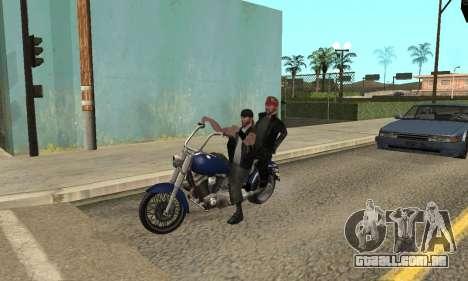 Alteração de áreas de gangues e suas armas v1.1 para GTA San Andreas nono tela