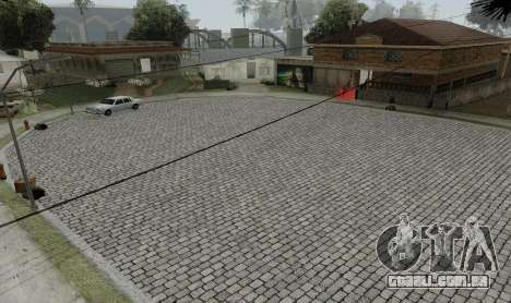 HQ Roads by Marty McFly para GTA San Andreas sexta tela