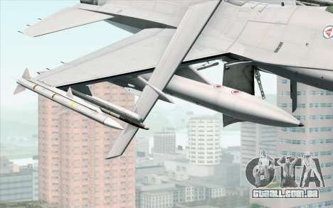 F-16 Fighting Falcon RNoAF PJ para GTA San Andreas vista direita
