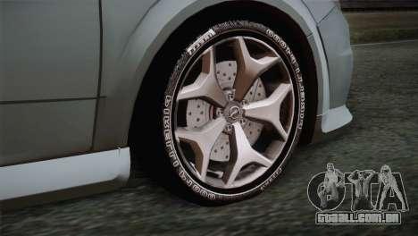 Opel Astra OPC Stock para GTA San Andreas traseira esquerda vista