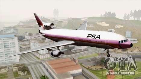 Lookheed L-1011 PSA para GTA San Andreas