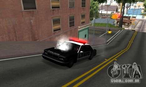 BeautifulDark ENB para GTA San Andreas por diante tela