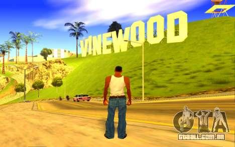 Colorful ENBSeries para GTA San Andreas por diante tela