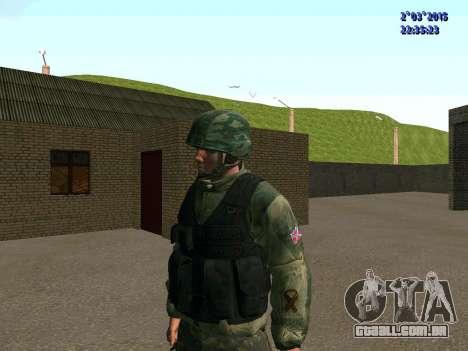 Guerreiro batalhão Leste para GTA San Andreas segunda tela