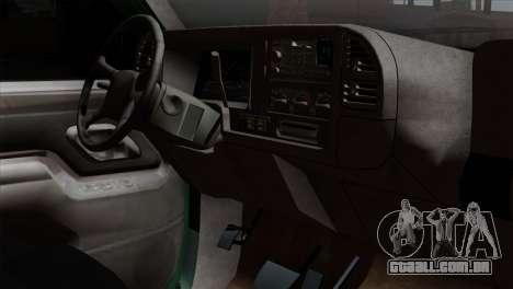 Chevrolet Suburban GMT400 1998 para GTA San Andreas vista direita