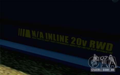 GTA 5 Karin Futo SA Mobile para GTA San Andreas vista direita