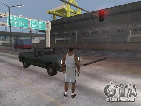 Os Russos, no distrito Comercial para GTA San Andreas sexta tela