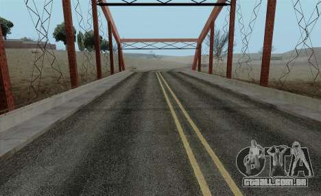HQ Roads by Marty McFly para GTA San Andreas segunda tela