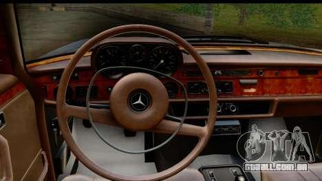Mercedes-Benz 300 SEL 6.3 (W109) 1967 HQLM para GTA San Andreas vista interior