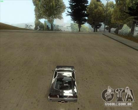 ENB Series New HD para GTA San Andreas segunda tela