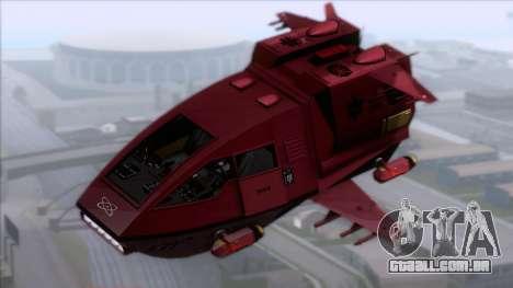 Shuttle v1 (no wheels) para GTA San Andreas