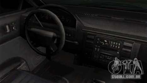 GTA 5 Vapid Stanier II IVF para GTA San Andreas vista direita