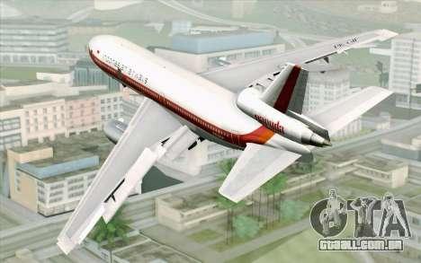 DC-10-30 Garuda Indonesia Sulawesi para GTA San Andreas esquerda vista
