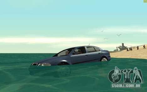 Real Water v1.2 para GTA San Andreas segunda tela