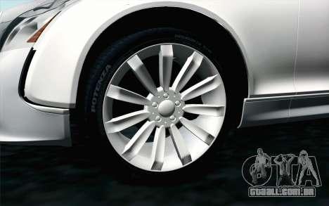 Maybach 57S Coupe Xenatec para GTA San Andreas traseira esquerda vista