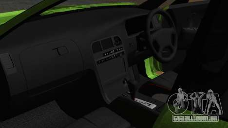 Toyota Mark II Tourer_V para GTA San Andreas vista interior