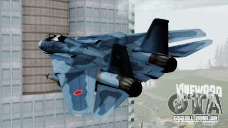 F-14 Japan Air Self Defense Force para GTA San Andreas esquerda vista