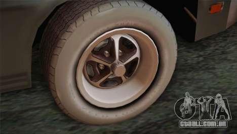 FlatOut 2 Scorpion para GTA San Andreas traseira esquerda vista