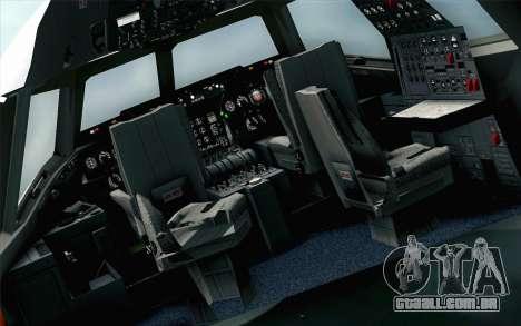 DC-10-30 Garuda Indonesia Sulawesi para GTA San Andreas vista traseira