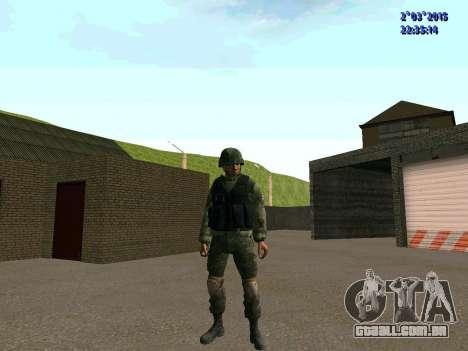 Guerreiro batalhão Leste para GTA San Andreas