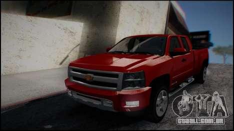 Chevrolet Silverado 1500 HD Stock para GTA San Andreas esquerda vista