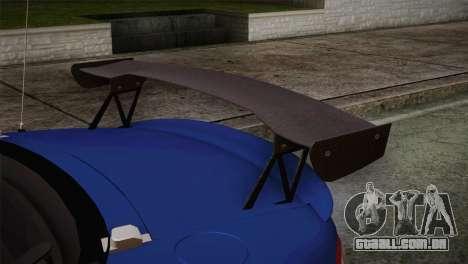 Mazda Miata Cabrio v2 para GTA San Andreas vista direita