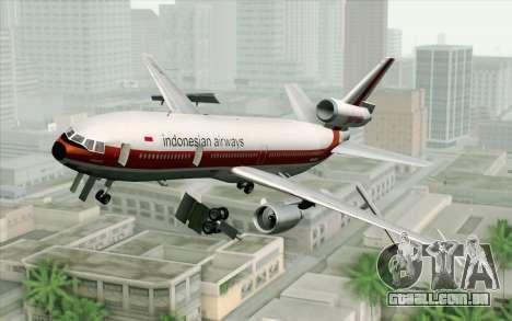 DC-10-30 Garuda Indonesia Sulawesi para GTA San Andreas