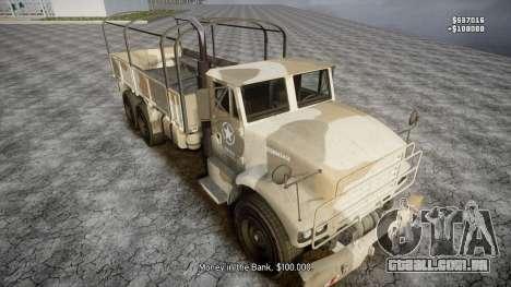 GTA 5 Barracks v2 para GTA 4 rodas