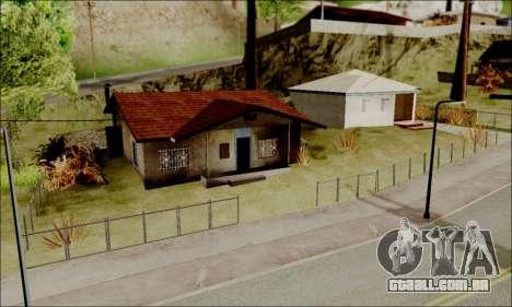 ENB para baixa de PC para GTA San Andreas por diante tela