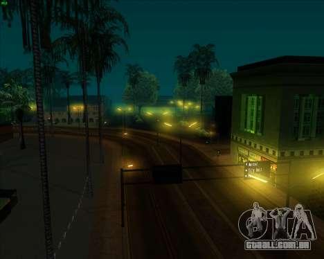 ENB Series New HD para GTA San Andreas sexta tela