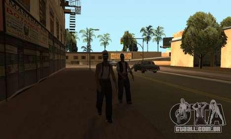 Alteração de áreas de gangues e suas armas v1.1 para GTA San Andreas terceira tela