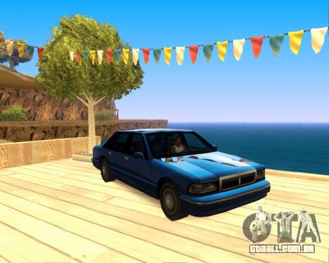 ENB for SAMP by MAKET para GTA San Andreas terceira tela