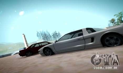 Formal ENB by HA v2.00 para GTA San Andreas por diante tela