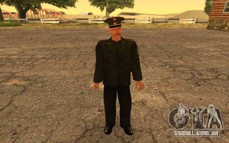 Coronel do exército russo para GTA San Andreas