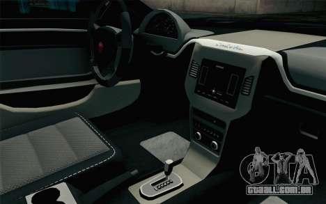 GTA 5 Cheval Fugitive HQLM para GTA San Andreas vista direita