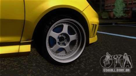 Opel Corsa OPC para GTA San Andreas traseira esquerda vista