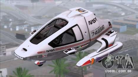 Shuttle v2 Mod 1 para GTA San Andreas