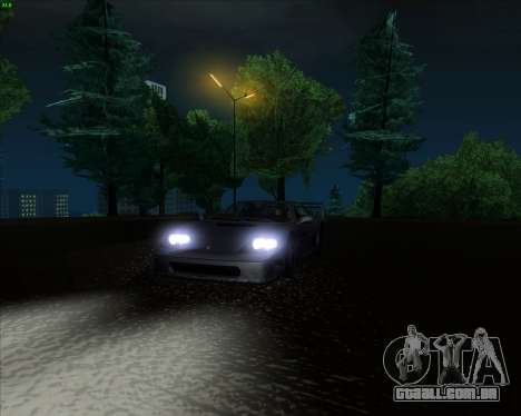 ENB Series New HD para GTA San Andreas oitavo tela