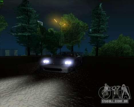 ENB Series New HD para GTA San Andreas oitavo tela
