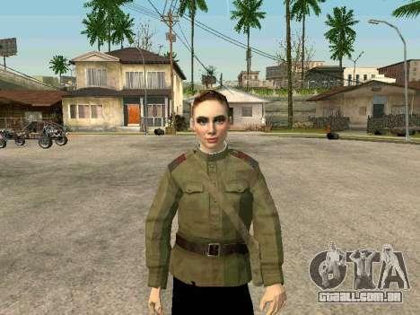 O sargento militar de campo medicina para GTA San Andreas