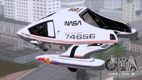 Shuttle v2 Mod 1 para GTA San Andreas esquerda vista