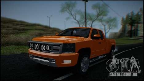 Chevrolet Silverado 1500 HD Stock para GTA San Andreas