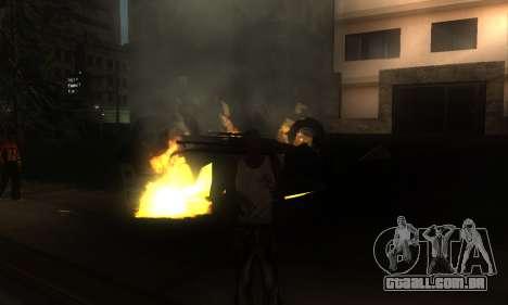 ENB por meio do PC para GTA San Andreas oitavo tela